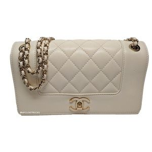 Chanel Classic Flap Mademoiselle Vintage Cream Bag